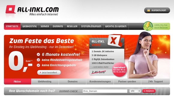 All-Inkl Internet-Provider