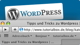 Wordpress Seitentitel optimieren