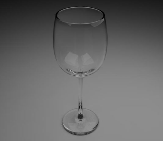 Cinema 4D Weinglass